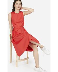 Everlane - The Clean Cotton Pull-on Skirt - Lyst