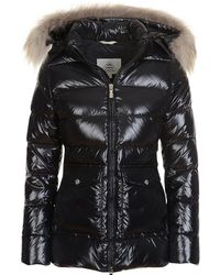 Pyrenex - Authentic Fur Tim Shinny Quilted Jacket - Lyst