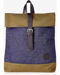 Express - Enter Accessories Denim Fold Top Backpack - Lyst