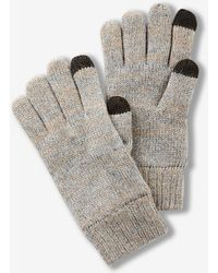 Express - Plaited Wool-blend Touchscreen Compatible Gloves - Lyst