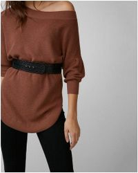 Express - Cut-out Belt - Lyst