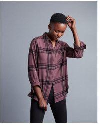 Express | Flannel Shirt | Lyst
