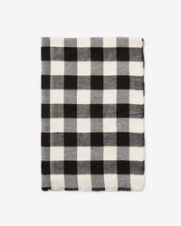 Express - Checkered Woven Scarf - Lyst