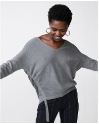 Express - Two Side Tunnel Tunic Jumper - Lyst