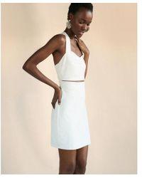 Express - Cut-out Crisscross Mini Sheath Dress - Lyst