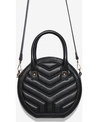 59e0ce4f24 Express Melie Bianco Crossbody Bag in Black - Lyst