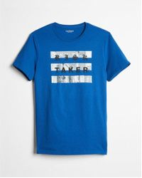 Express - Risk Taker Graphic Tee - Lyst