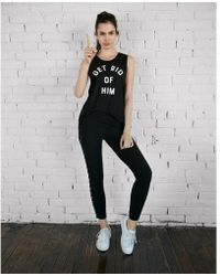 Express - Get Rid Of Him Muscle Tank - Lyst