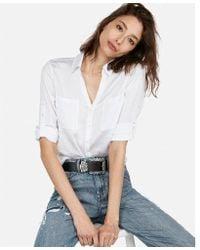 Express - Original Fit Portofino Shirt - Lyst