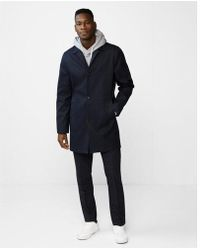 Express - Onded Trench Coat - Lyst