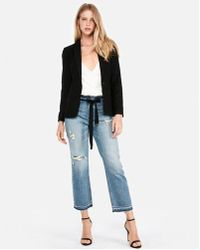 Express - One-button Blazer - Lyst