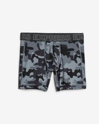 Express - Camo Performance Boxer Briefs - Lyst