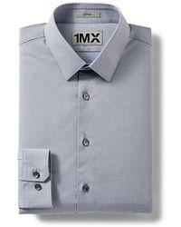 Express - Slim Textured 1mx Shirt - Lyst