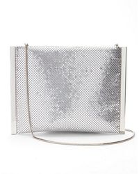 Express - Metal Mesh Clutch - Lyst