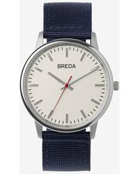 Express Breda Navy Valor Watch - Blue