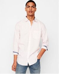 Express - Slim Soft Wash Striped Dress Shirt - Lyst