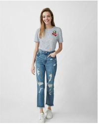 Express - One Eleven Cherry - Lyst