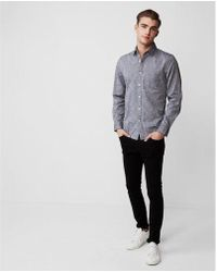 Express - Classic Fit Soft Wash Cotton Shirt - Lyst
