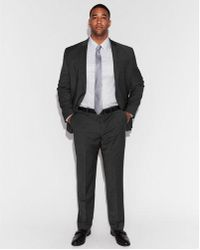 Express - Classic Navy Performance Stretch Wool-blend Suit Pant - Lyst