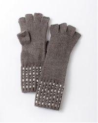 Express - Embellished Fingerless Gloves - Lyst