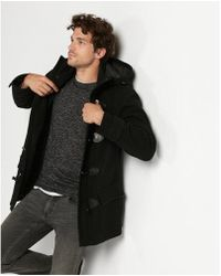 Express | Recycled Wool Toggle Coat | Lyst