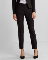 Express - Petite Mid Rise Ankle Columnist Pant - Lyst