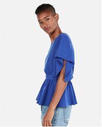 Express - Kimono Sleeve Blouse - Lyst