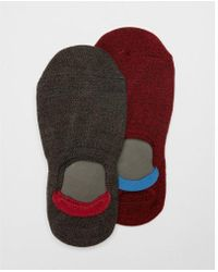 Express - 2 Pack Marled Loafer Socks - Lyst