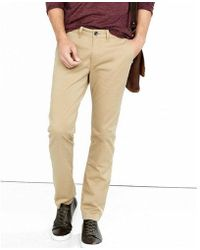 Express - Skinny Fit Flex Stretch Light Brown Chino Pant - Lyst