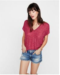 Express - One Eleven Soft Knit London Tee - Lyst