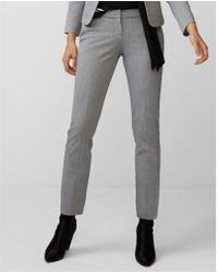 Express - Low Rise Columnist Ankle Pant - Lyst