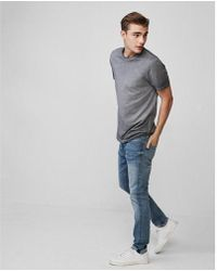 Express - Big & Tall Reversible Washed Crew Neck Tee - Lyst