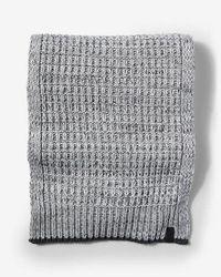 Express - Texture Stitch Scarf - Lyst