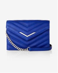 Express | Mini Quilted Cross Body Bag | Lyst