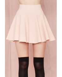 Nasty Gal Cream Of The Crop Skirt  - Lyst