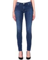 Acne Studios Flex Atlantis Slim-fit Mid-rise Jeans Flex Atlantis - Lyst