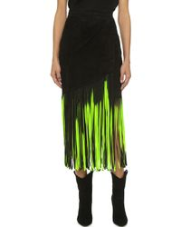 Tamara Mellon - Signature Fringe Skirt - Lyst