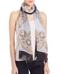 Givenchy | Jewel-print Silk Scarf | Lyst