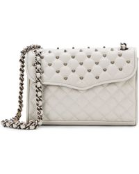 Rebecca Minkoff Mini Affair Studded Quilted Leather Bag - Lyst