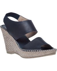 Andre Assous   Reese Leather Wedge   Lyst