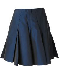 Viktor & Rolf Pleated Umbrella Skirt - Lyst