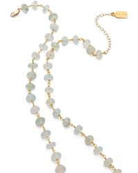Ela Rae Diana Amazonite Necklace - Lyst