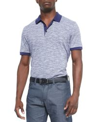 Boss by Hugo Boss Mouline-Knit Polo - Lyst