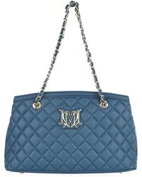 Love Moschino Quilted Logo Tote Bag - Lyst