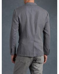 John Varvatos Wire Detail Jacket - Lyst