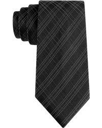 Calvin Klein Onyx Luxe Fashion Slim Tie - Lyst