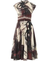 Mary Katrantzou Callaway Godiva Brogueprint Shirt Dress - Lyst