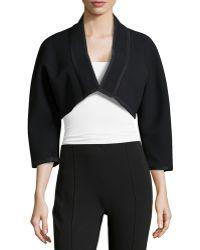 Donna Karan New York 3/4-Sleeve Kimono Bolero - Lyst