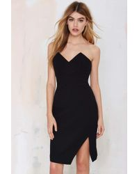 Nasty Gal Holding Back Dress - Lyst