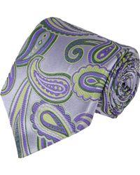 Etro Paisley Neck Tie - Lyst